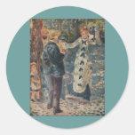 Pierre-Auguste Renoir's The Swing (1876) Round Sticker
