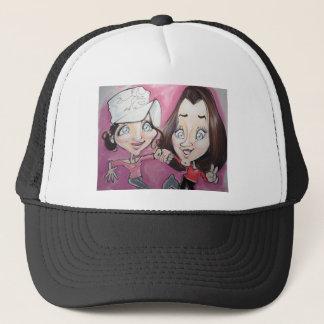 Pierre Bossier Mall Caricature November 18,2012 Trucker Hat