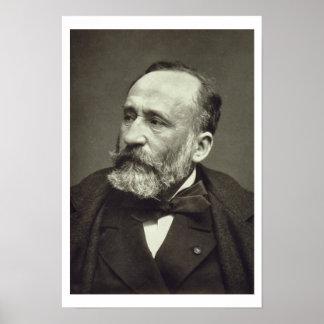 Pierre Cecile Puvis de Chavannes (1824-98), from ' Print