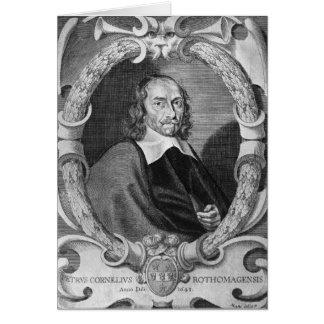 Pierre Corneille  1643 Card