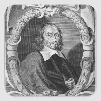 Pierre Corneille  1643 Square Sticker