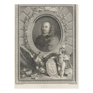 Pierre Corneille  French playwright Postcard