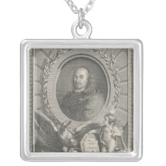 Pierre Corneille  French playwright Silver Plated Necklace