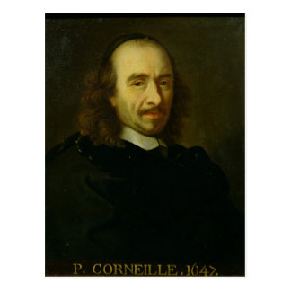 Pierre de Corneille  1647 Post Card