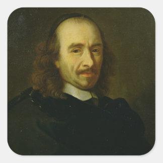 Pierre de Corneille  1647 Square Stickers