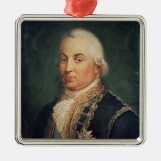 Pierre de Suffren-Saint-Tropez Admiral of Metal Ornament