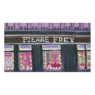 PIERRE FREY: PARIS BUSINESS CARD