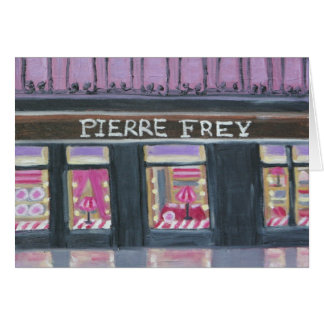 PIERRE FREY : PARIS NOTECARD