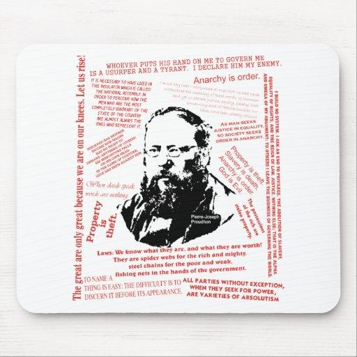 Pierre-Joseph Proudhon Mouse Pad