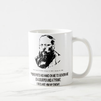 Pierre-Joseph Proudhon Classic White Coffee Mug