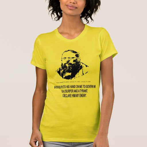Pierre-Joseph Proudhon T-shirts