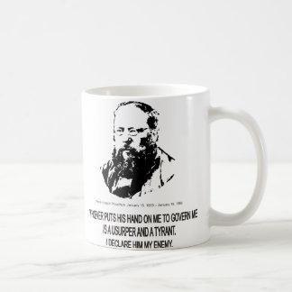 Pierre-Joseph Proudhon Taza De Café