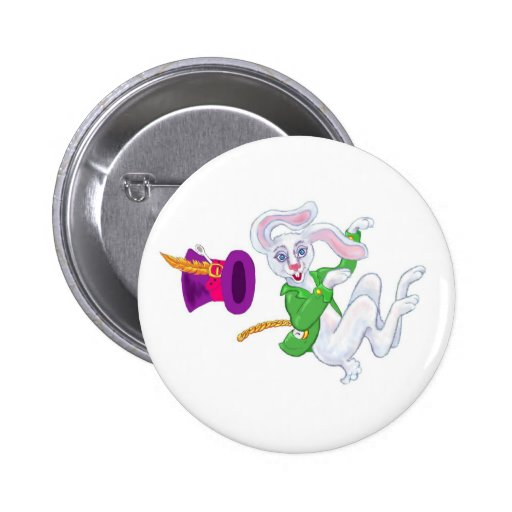 Pierre Lapin Pinback Buttons