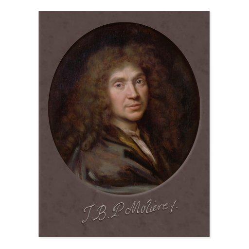 Pierre Mignard Molière CC0589 Postcard
