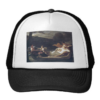Pierre-Paul Prud hon- The dream of happiness Mesh Hats