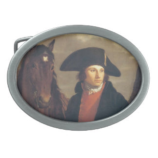 Pierre-Paul Prud'hon- Portrait of Georges Anthony Oval Belt Buckle