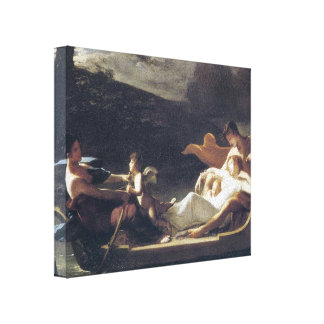 Pierre-Paul Prud'hon- The dream of happiness Gallery Wrap Canvas