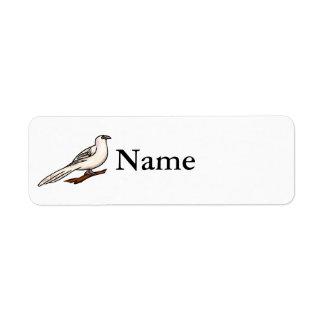 Pierre Pigeon.png Custom Return Address Labels