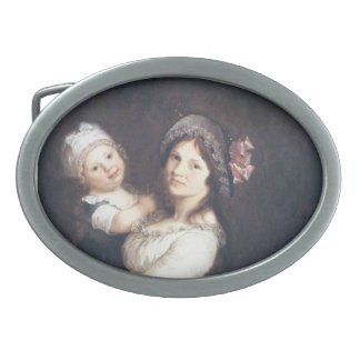 Pierre Prud'hon- Family portrait of Madame Anthony Belt Buckle