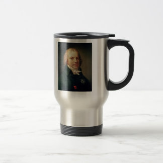 Pierre Prud'hon:Portrait of Charles de Talleyrand Travel Mug