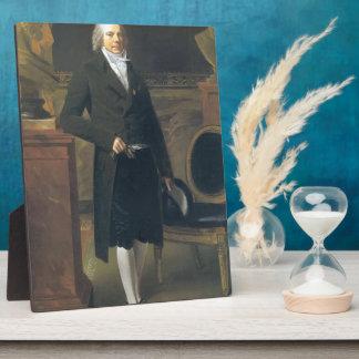 Pierre Prud'hon- Portrait of Charles Maurice Photo Plaque