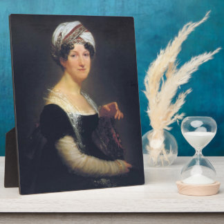 Pierre Prud'hon-Portrait of Madame de Saint-Gilles Display Plaque