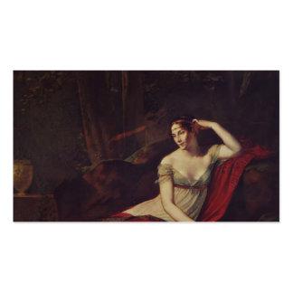 Pierre Prud'hon- Portrait of the Empress Josephine Business Cards