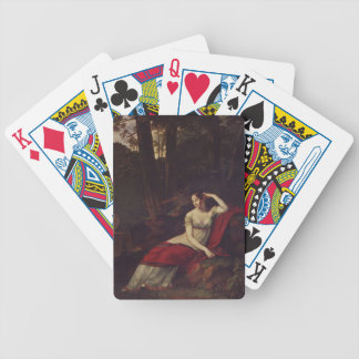 Pierre Prud'hon- Portrait of the Empress Josephine Poker Cards