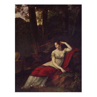 Pierre Prud'hon- Portrait of the Empress Josephine Postcard