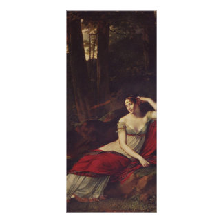 Pierre Prud'hon- Portrait of the Empress Josephine Personalized Rack Card