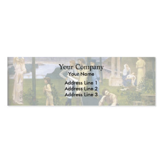Pierre Puvis de Chavannes- Between Art and Nature Business Card Templates