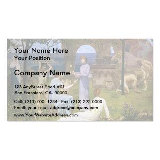 Pierre Puvis de Chavannes- Between Art and Nature Business Card Template
