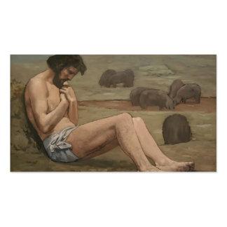 Pierre Puvis de Chavannes- The Prodigal Son Business Cards
