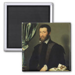 Pierre Quthe  1562 2 Inch Square Magnet