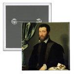 Pierre Quthe  1562 Button