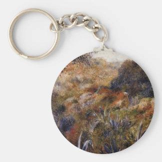 Pierre Renoir- Algerian Landscape Keychain