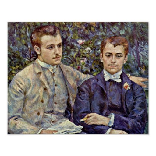 Pierre Renoir - Charles and Georges Durand Poster