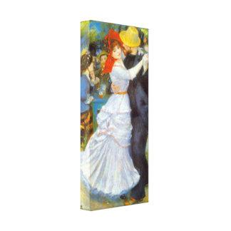 Pierre Renoir - Dance at Bougival Canvas Print