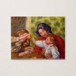 Pierre Renoir - Dancer with castanets puzzle