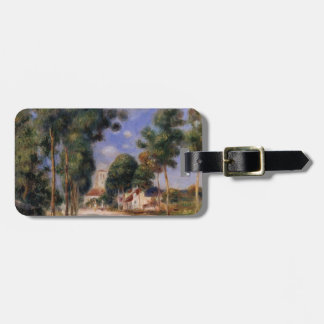 Pierre Renoir- Entering the Village of Essoyes Travel Bag Tags