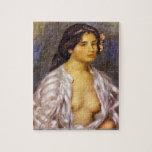 Pierre Renoir - Gabrielle in an Open Blouse puzzle