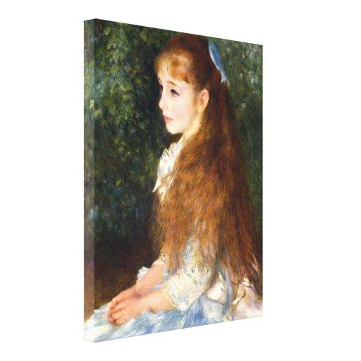 Pierre Renoir - Irene Cahen d Anvers Stretched Canvas Prints