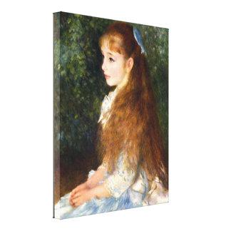 Pierre Renoir - Irene Cahen d Anvers Canvas Print
