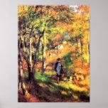 Pierre Renoir - Jules le Coeur and his dogs Print