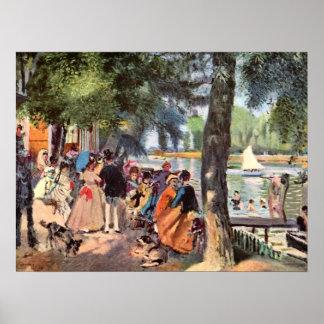 Pierre Renoir - La Grenouillere Poster