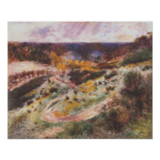 Pierre Renoir - Landscape in Wargemont Poster