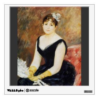 Pierre Renoir- Madame Leon Clapisson Wall Stickers