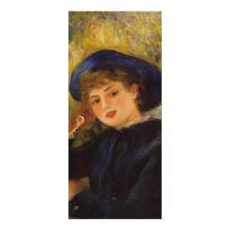 Pierre Renoir- Mademoiselle Demarsy Rack Card