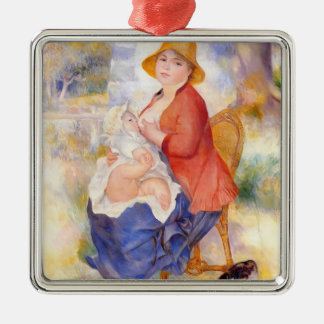 Pierre Renoir- Motherhood Christmas Ornament