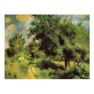 Pierre Renoir- Orchard at Louveciennes Postcard
